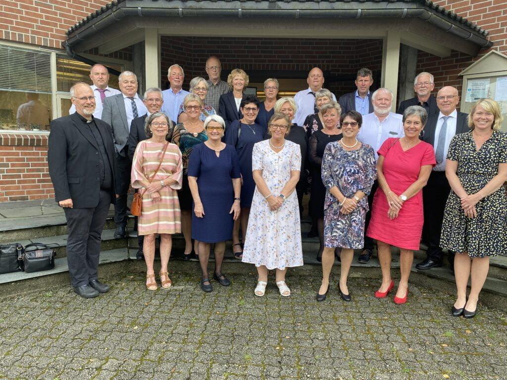50 års konfirmanter i Bjerkreim 2020